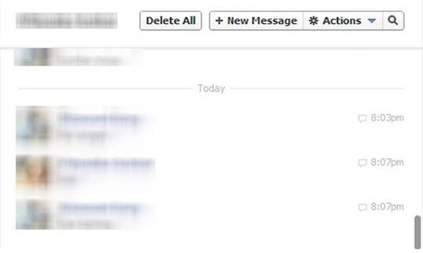 alle Berichten op Facebook Verwijderen