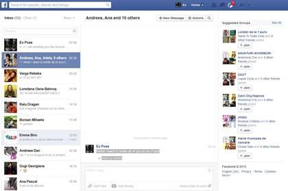 doorsturen berichten, foto's en video's op Facebook