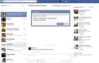 Facebook berichten, foto's en video's te sturen naar alle Facebook-vrienden