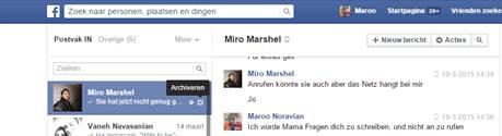 facebook messenger in achiv
