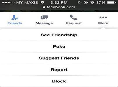 facebook vriend blokkeren
