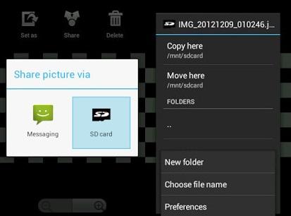 berichten en fotos op facebook messenger voor android