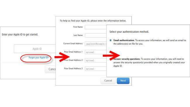 icloud wachtwoord herstellen