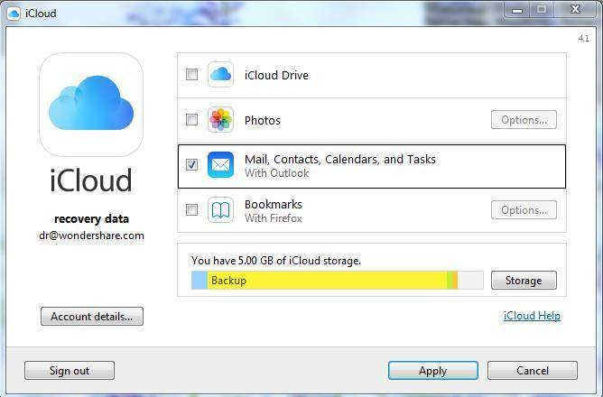 Two Ways To Sync Outlook With iCloud Easily