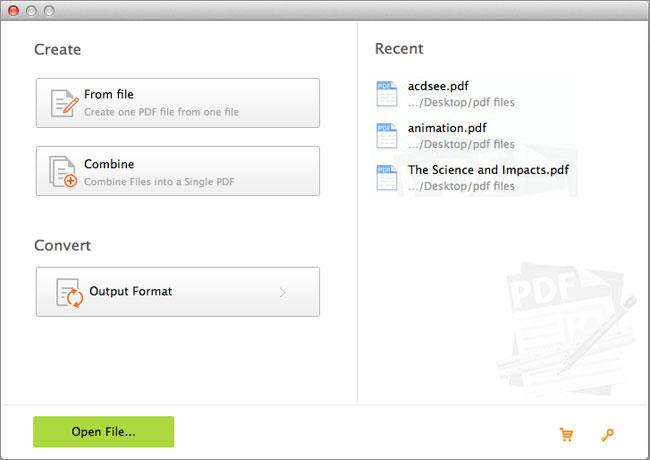 create pdf mac