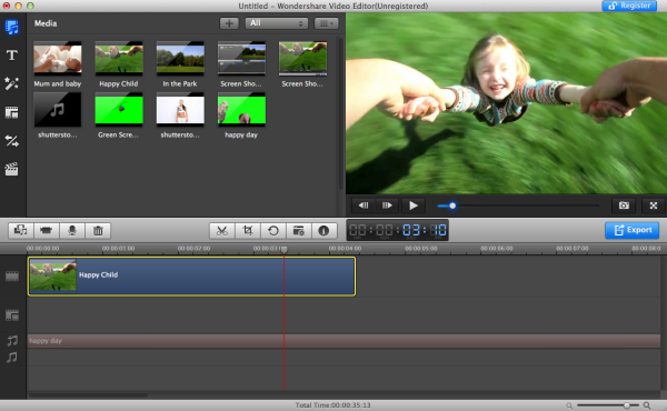 video editong audio detach