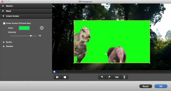 video editing green screen