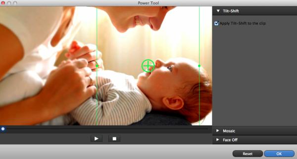 video editing tiltshift