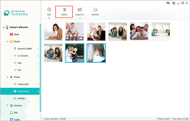 managing iphone photos