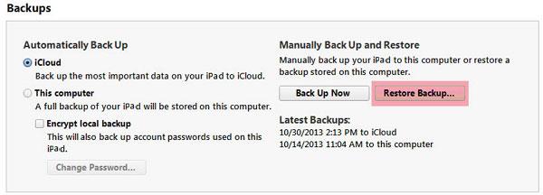 move files to ipad mini with retina display