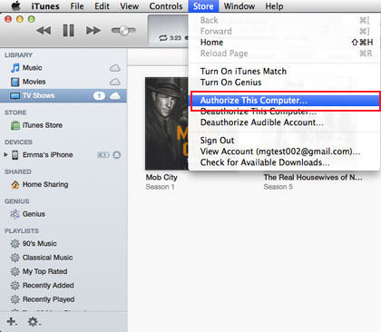 disable itunes automatically sync