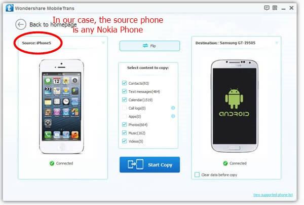 Hoe draag je gegevens over van Nokia naar Samsung