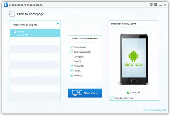 transferring contacts from nokia to sony xperia