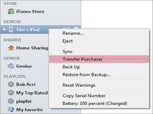 ipod to ipad contact transfer
