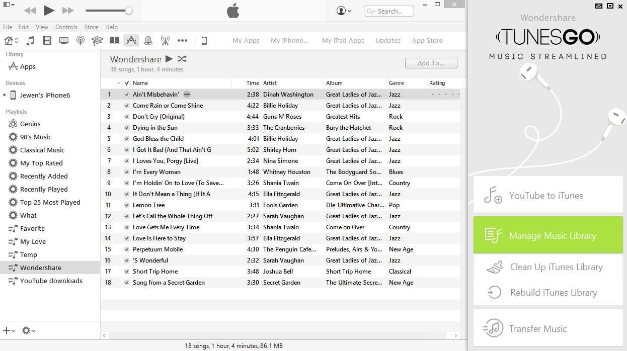 transfer music from samsung galaxy to itunes