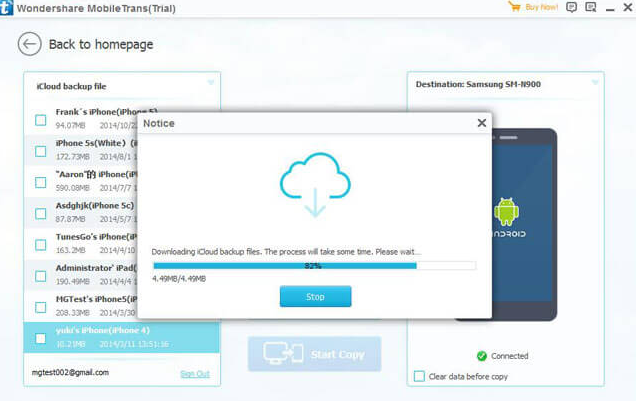 How to Sync iCloud with Android