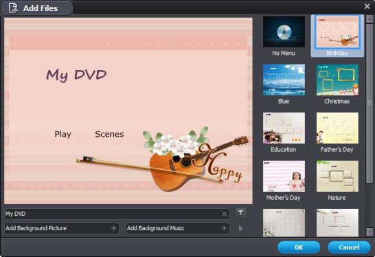 burn m4v to dvd - output format