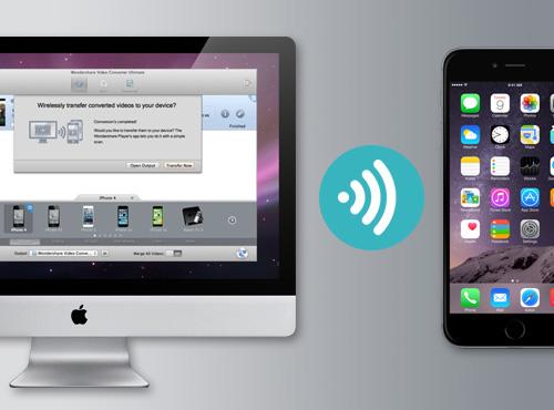 video converter wifi transfer video