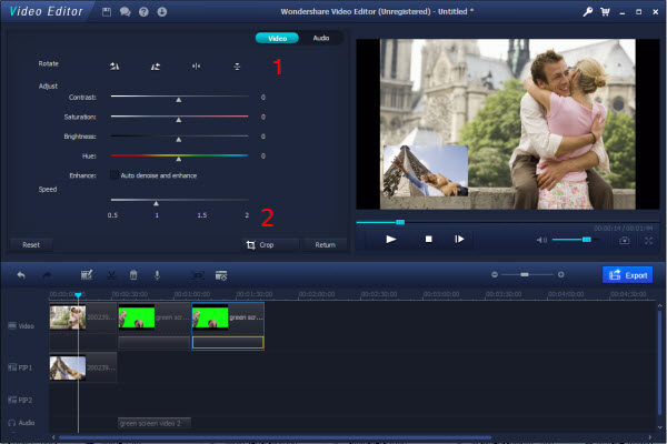 simple video editor windows 8