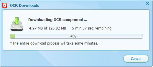 download OCR component