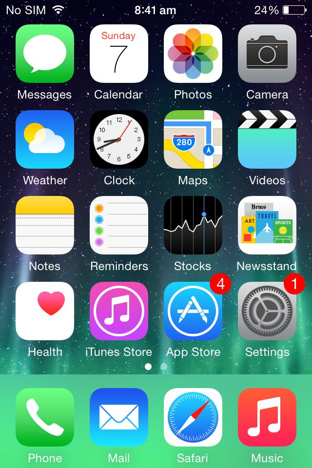 fiks je een bevroren iPhone