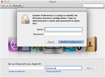 icloud issue