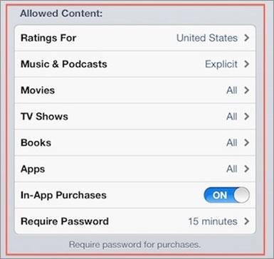 reset iphone restrictie wachtwoord