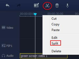 split audio